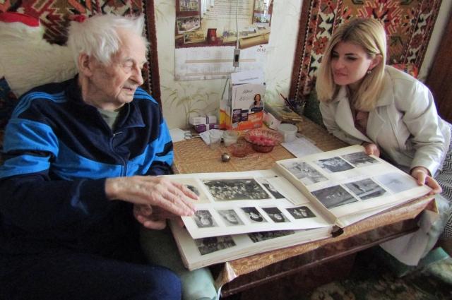 Алексей Хазов исколесил тысячи километров по фронтовым дорогам.
