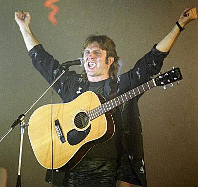 Конкурс рок-музыки. Юрий Лоза. 1988 год