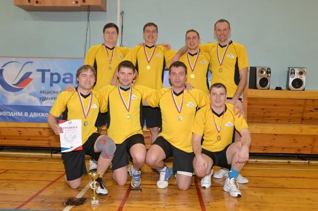 Первое место по итогам проведённых игр заняла команда Пермского районного нефтепроводного управления.