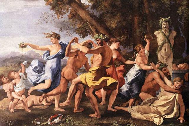 Оргии Древнего Рима