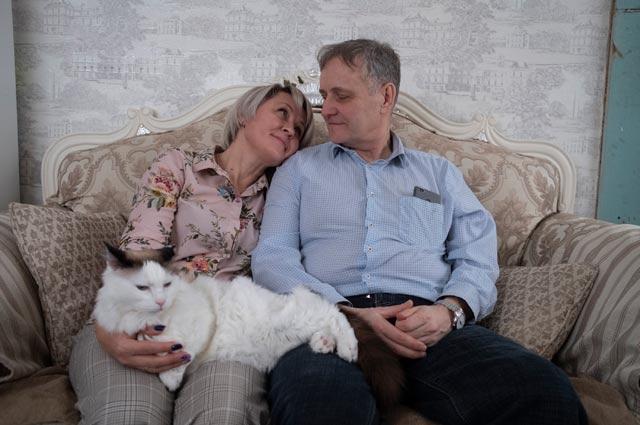 Галина Акимова и Владимир Коновалов.