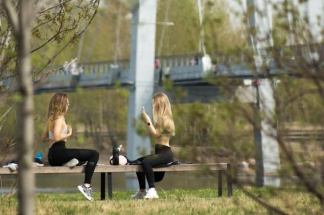 Спортсменам открыли доступ в Татышев-парк