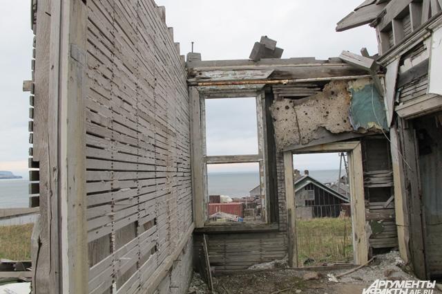 В 90-е годы на Итурупе воцарилась разруха