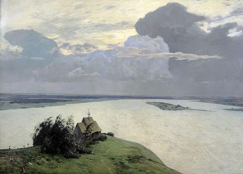 Исаак Левитан «Над вечным покоем» 1894