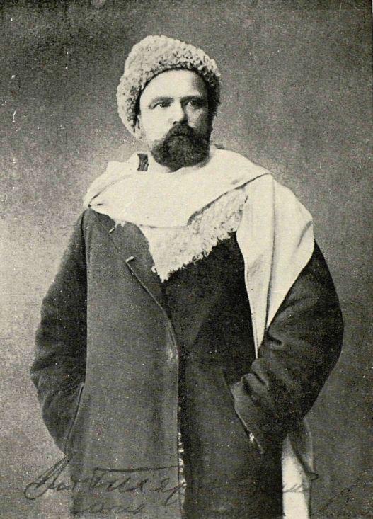 Владимир Гиляровский, 1880-е гг.