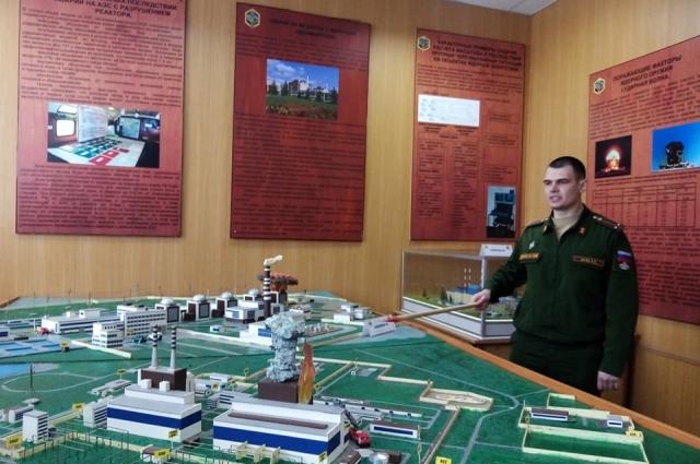 Этот учебный макет в точности имитирует одну из железнодорожных станций в Свердловской области.