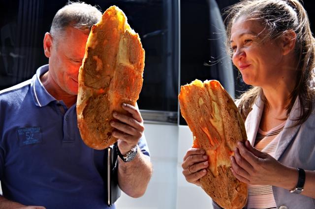 Хлеб из тандыра.