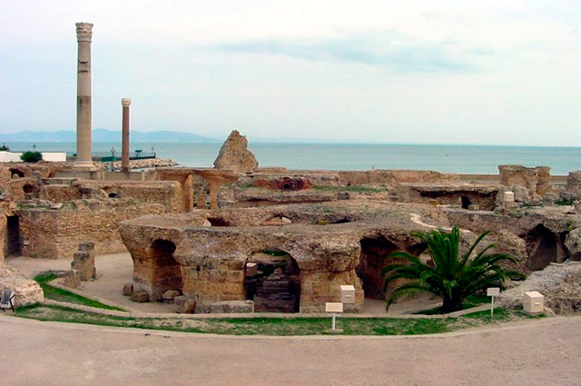 Руины Карфагена, Тунис.