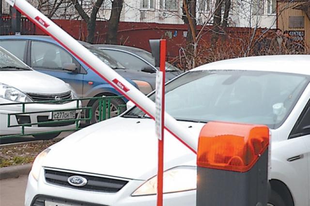 В Ханты-Мансийске установлено 36 шлагбаумов