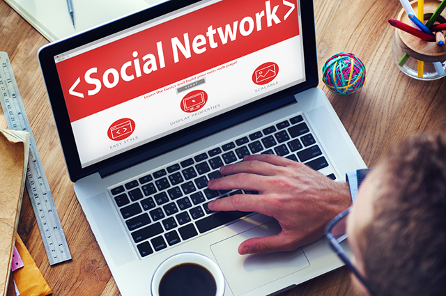 Социальная сеть, работа