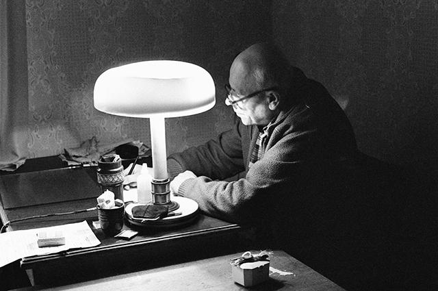 Андрей Сахаров, 1989 г.