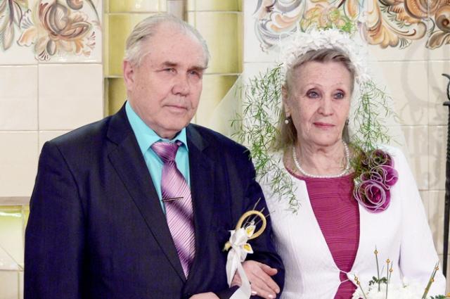 Золотую свадьбу в семье Третьяковых-Мейдер отпраздновали в канонах традиции гернгутеров.