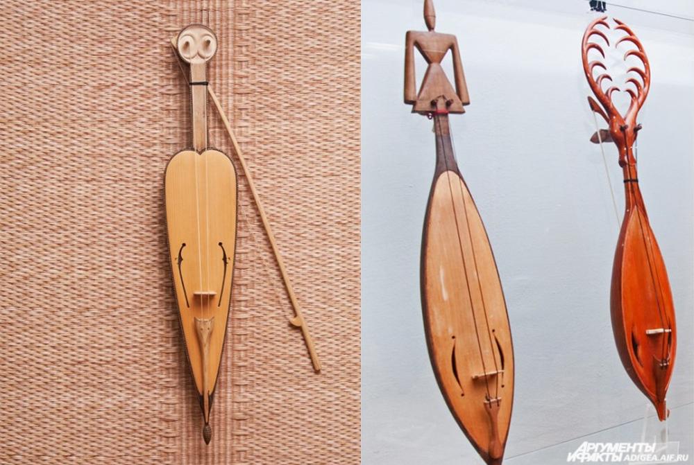 Адыгский музыкальный инструмент «Шичепшин».