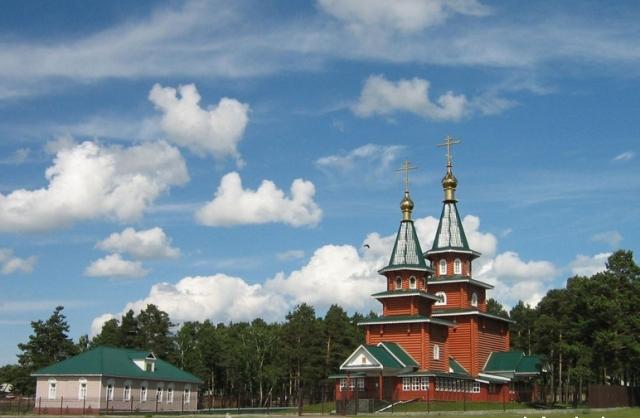 Церковь в Усть-Уде.