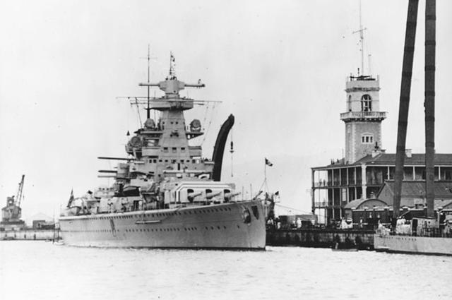 Крейсер «Адмирал Шеер»