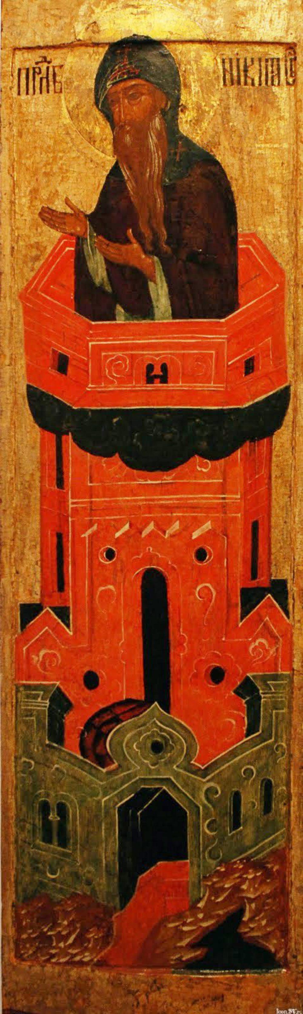 Икона Никиты Столпника.