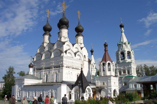 Свято-Троицкий монастырь в Муроме.