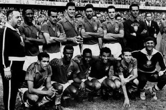 Сборная Бразилии на Чемпионате мира в Швеции, 1958 г.