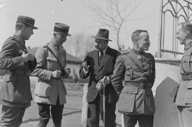 Представители французской военной миссии. г. Омск, 1919 год.