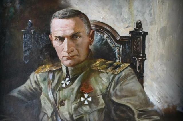 Андрей Ромасюков «Последняя звезда». Облик адмирала мрачный и демоничный. Сделана по фотографии.