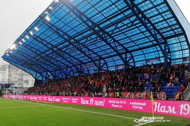 Следующая игра у оренбургский футболистов пройдет на выезде.