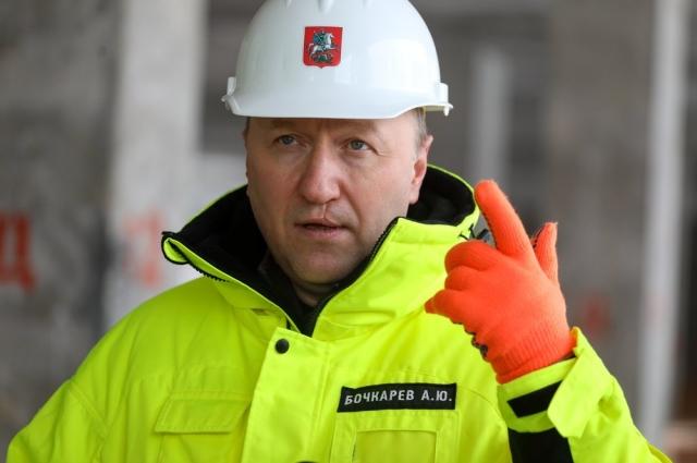 Заместитель мэра Москвы по вопросам градостроительной политики и строительства Андрей Бочкарев