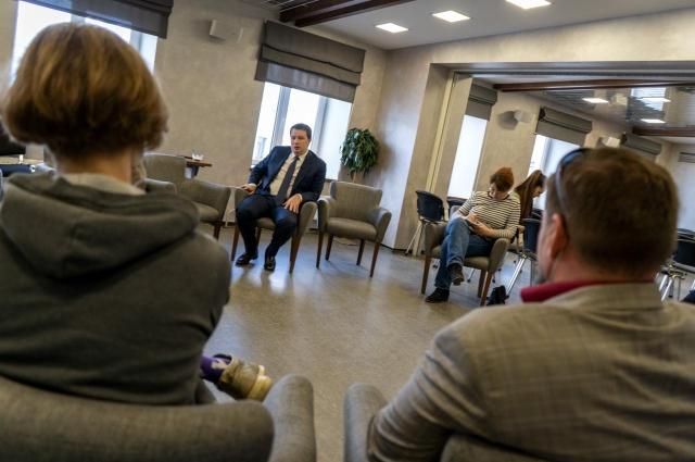 Представители пермской IT-отрасли задали Антону Немкину множество вопросов.
