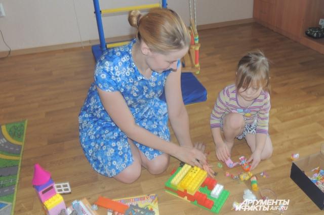 Дарья и ее семья живут теперь в съемной квартире