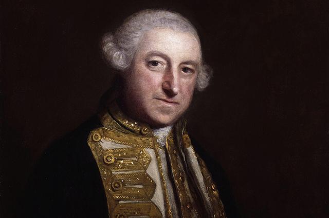 Британский адмирал Эдвард Боскауэн.