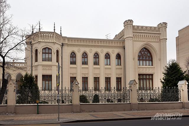 Особняк Саввы Морозова на Спиридоновке.