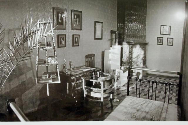 Комната Шарифа Шамала с его личными вещами (в период работы музея).