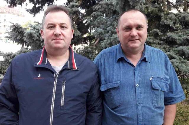 С председателем Совета отцов Архангельской области.