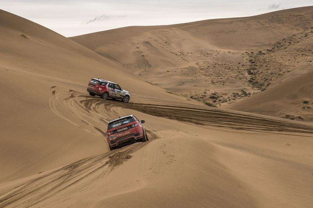 Автомобили участвовали в трансконтинентальном ралли «Шелковый путь»