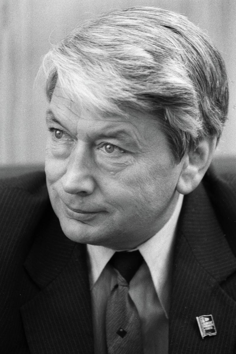 Космонавт Борис Егоров. 1988 год.