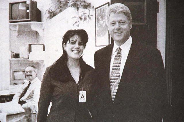 Моника Левински, Билл Клинтон, 1998 год.