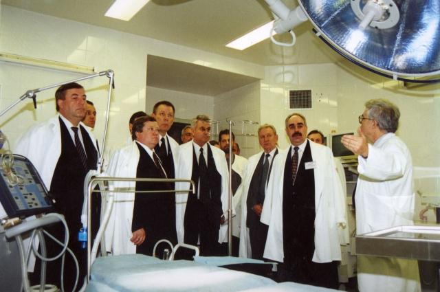 Открытие нового корпуса ОКБ в 2001 году