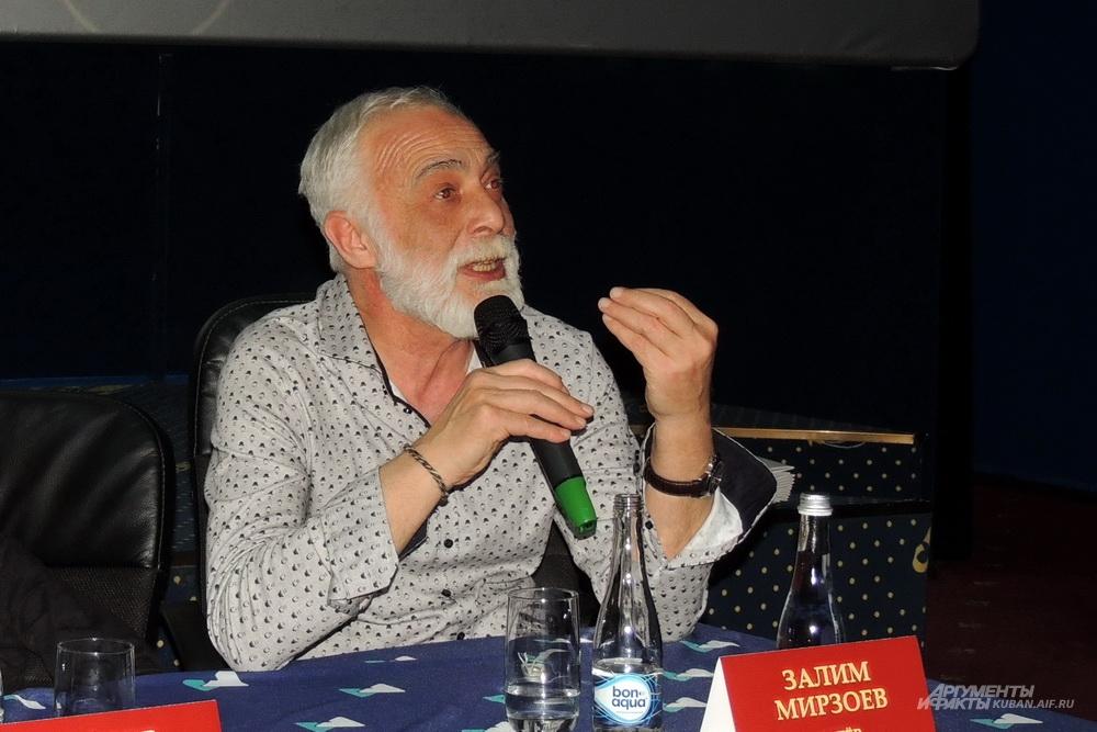 Заслуженный артист России Залим Мирзоев, исполняющий в фильме одну из главных ролей.