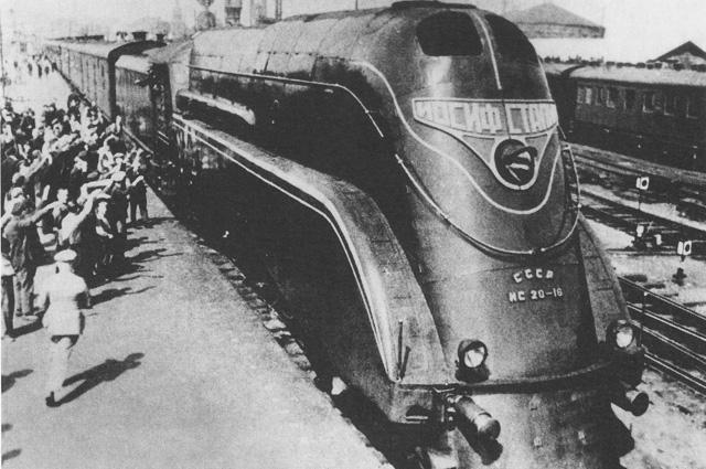 Паровоз ИС 20-16 (Иосиф Сталин).