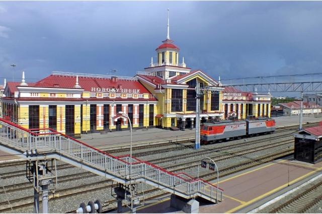Железнодорожная станция в Кузнецке строилась с 1924 года.