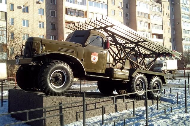 Вот такая Катюша в Иванове.