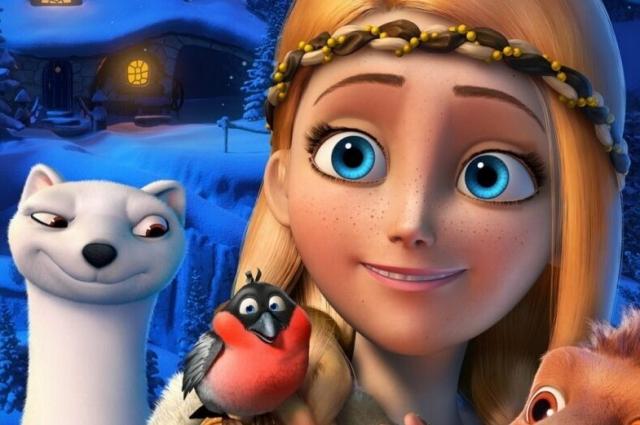 Кадр из мультфильма «Снежная королева».