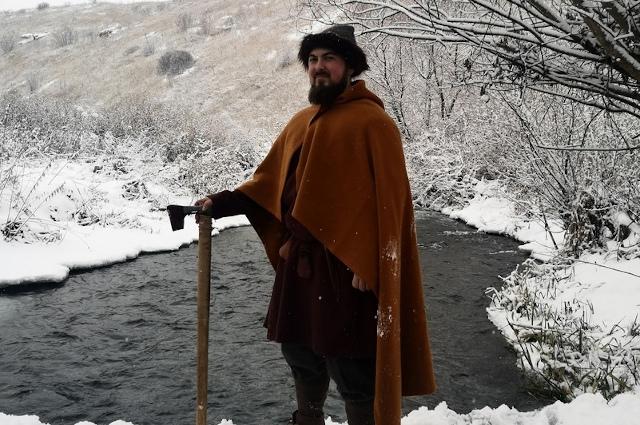 Зимний комплект одежды славян