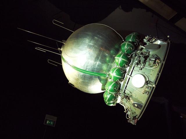 Макет корабля «Восток-1» в парижском Музее авиации и космонавтики
