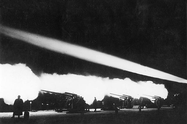 Учения немецких ПВО.