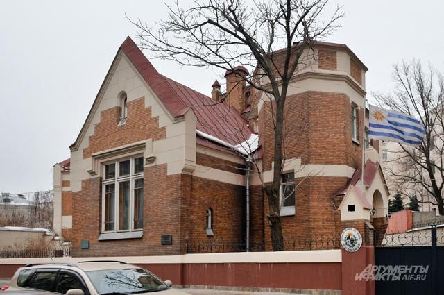 Дом Шехтеля в Ермолаевском переулке.