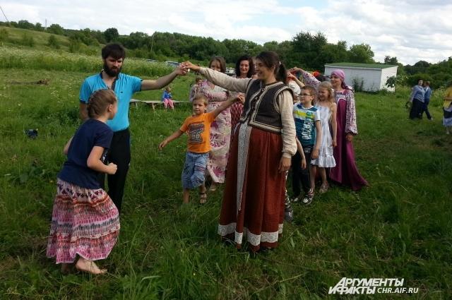 Праздник Ивана Купалы в Ржавце