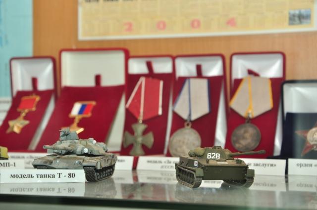 Ветераны предоставили для выставки свои личные вещи.