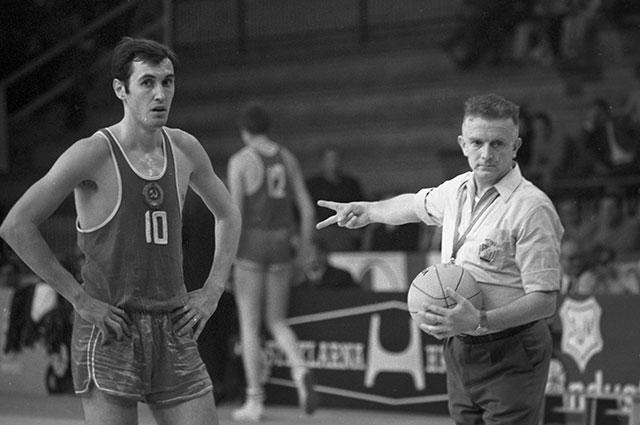 Баскетболист Сергей Белов, 1970 г.