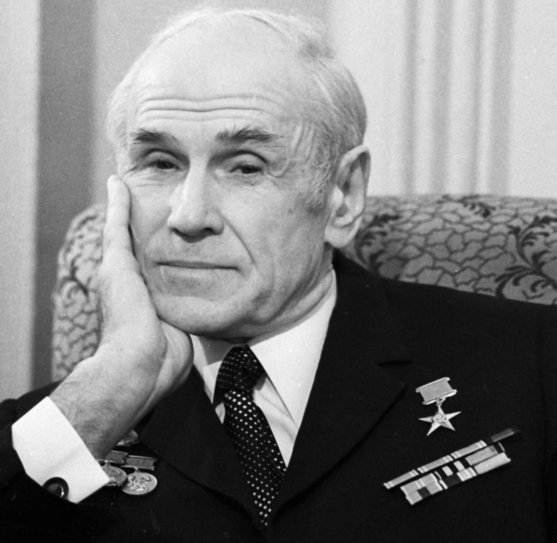 Народный артист СССР Борис Бабочкин. 1974 г.