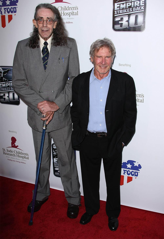 Питер Мейхью и Харрисон Форд. 2010 г.